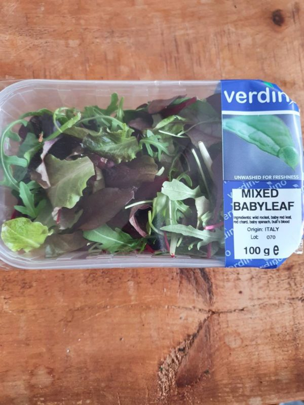 Mix baby leaf