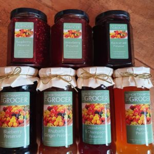 Locally Produced Honey Preserves & Chutneys